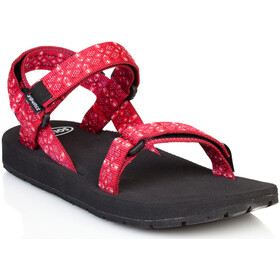SOURCE Classic Sandalen Dames, tribal red